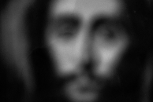 Jesus out of focus